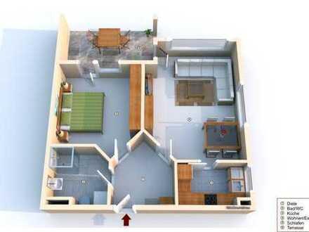 Selbstbezug oder TOP Kapitalanlage: 2 Zimmer Wohnung Heilbronner Str. 115