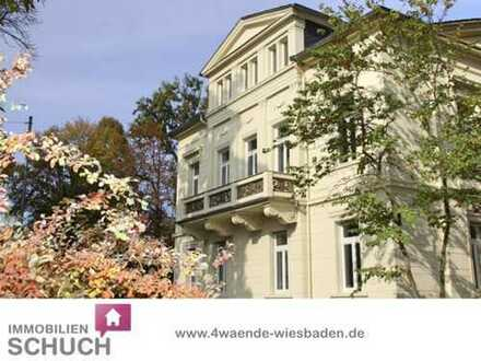 Schuch Immobilien - Büroetage in einer historischen Villa am Rhein - Erstbezug nach Sanierung