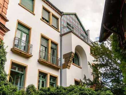Stilvolle Jugendstilvilla nahe Europaplatz - provisionsfrei!
