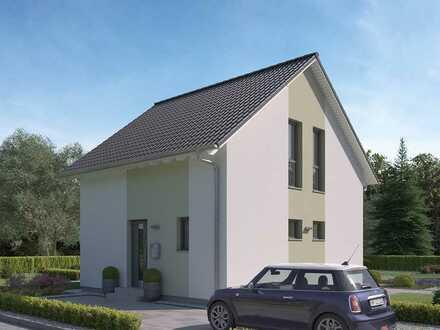 Kompaktes Haus für kleines Geld - inkl. Grundstück !