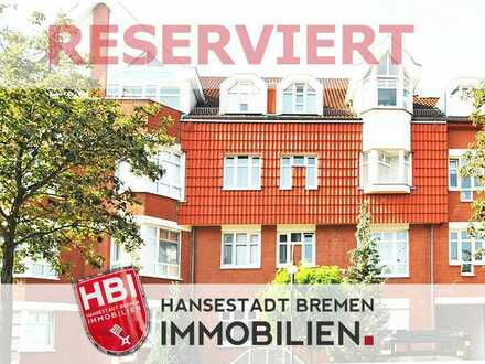 Weidedamm / Moderne 4-Zimmer-Wohnung mit Süd-Balkon und Tiefgaragenstellplatz