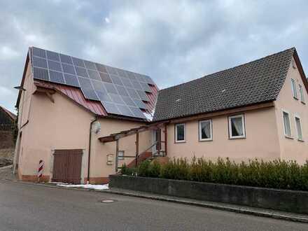 RESERVIERT | Stark renovierungsbedürftiges Wohnhaus mit Scheune und PV Anlage