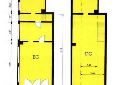 Lagergebäude mit Kellerraum + Freigelände