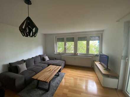 Vollständig renovierte 2-Raum-Wohnung mit Balkon in Gärtringen