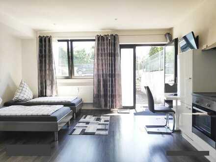 Schöne, helle 1 Zimmer - 2 Personen Wohnung zu vermieten - möbliert