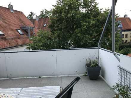 4,5-Raum-Wohnung mit Balkon und Einbauküche und Stellplatz in Sersheim