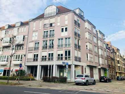 Schöne, gepflegte 3-Zimmer-Wohnung mit Balkon und Kellerraum in Karlsruhe