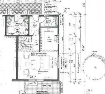 Schöne Doppelhaushälfte mit vier Zimmern in Oberkochen, Heide