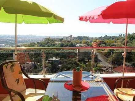 ***komplett möblierte Penthaus-Wohnung mit grosser Terrasse***