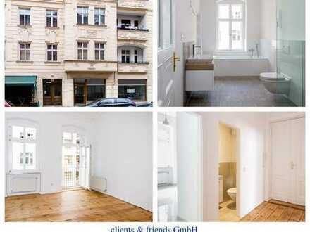 Erstbezug nach Top-Sanierung - Schöne 3 Zimmerwohnung mit Wannen-Duschbad unweit des Comeniusplatzes