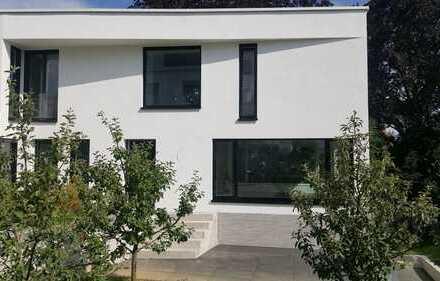 Architektenhaus mit Blick am Kräherwald