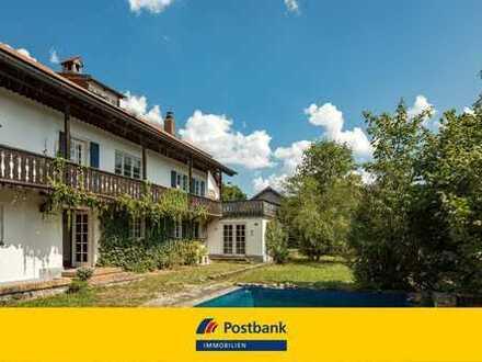 Historisches Jagdhaus mit Entwicklungspotenzial auf über 3.600 m² großem Grundstück!