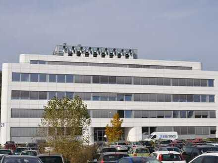 Firmenräume in Hightech-Gebäude