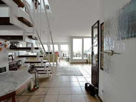 Lichtdurchflutete 5 Zimmer Maisonettewohnung mit unglaublichem Ausblick