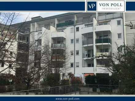Adrette 3 Zimmerwohnung Hochparterre mit Terrasse - Citylage - unmittelbare Mainnähe