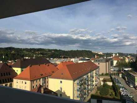 Sanierte zentrumsnahe 88 m² Wohnung mit 3 großen Balkonen und top Ausblick