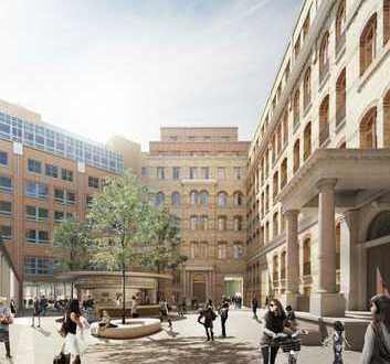 Willkommen in den Stadthöfen - Repräsentative 5-Zimmer-Wohnung über den Dächern !