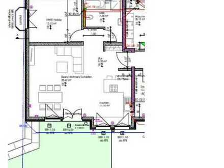 Erdgeschosswohnung mit Terrasse: ansprechende 2,5-Zimmer-Wohnung in ruhiger Lage in Villingen