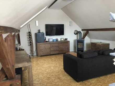 Neuwertige 3,5-Raum-Maisonette-Wohnung mit Balkon und Einbauküche in Oranienburg