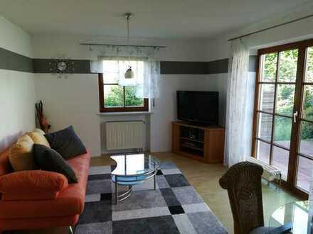 PROVISIONSFREI! 2-Zimmer-Erdgeschosswohnung VOLL MOBELIERT mit Terasse EBK in Friedberg-Rinnenthal