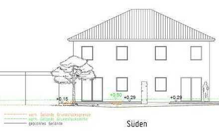 Vor dem Start zur Umsetzung: Helles Doppelhaus, KfW 55, mit Garagen+Stellplätzen,etc. in guter Lage!