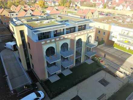 Traumhafte 3-Zimmerwohnung mit Terrasse + Gartenanteil (Whg 2)