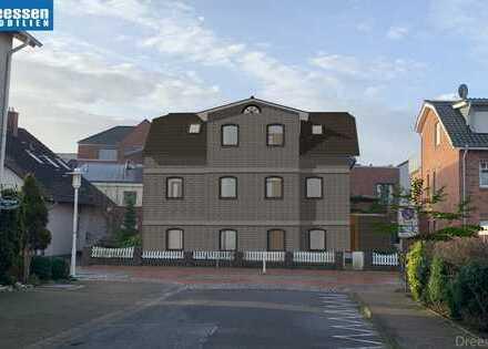 Büsum/Zentrum: 3 Zimmer Eigentumswohnung in Neubauwohnanlage Nähe des Hafens * COURTAGEFREI*