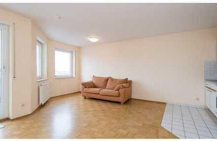 Schöne, geräumige 1- Zimmer Wohnung in Rhein-Neckar-Kreis, Sandhausen mit TG- Stellplatz, Keller