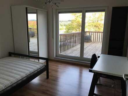 Möbliertes Zimmer in 70qm Wohnung