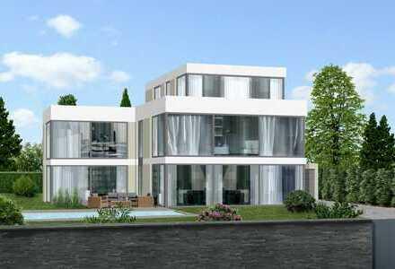 freistehende - Architekten - Villa mit beheizbarem Aussenpool