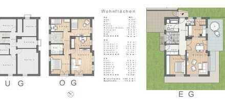 Schönes Haus in ruhiger Lage mit sechs Zimmern in Eggenfelden, Rottal-Inn