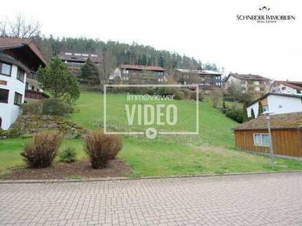 Großes Baugrundstück mit Doppelgarage für ein EFH, DHH, MFH oder auch Terrassenhaus in Bad Teinach