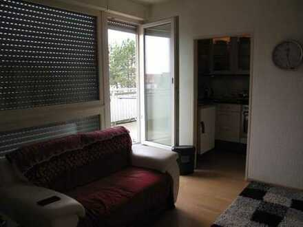 Single-Apartment mit großem Balkon zu verkaufen
