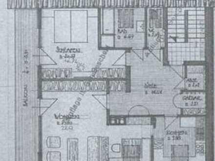 2,5 Zimmer DG-Wohnung, 10m Balkon und Einbauküche in Sonthofen