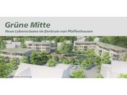 3-Zimmer-Neubauwohnung mit 2 Terrassen