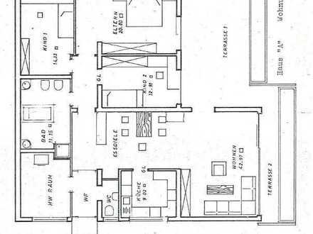 Kernsanierte 5-Zimmer Terrassenwohnung in Windenreute