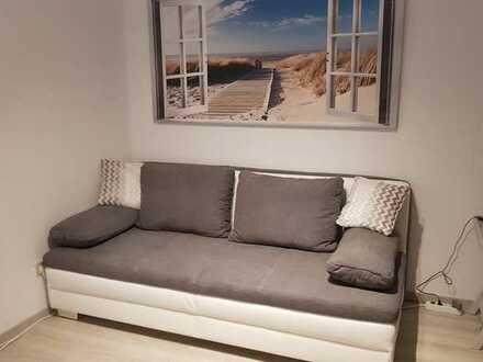 Möblierte 1-Zimmer-Wohnung - komplett ausgestattet
