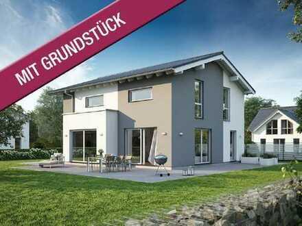 Traditionelle Form trifft moderne Kontur! - Knapp 1.000m² linkselbig in der Gemeinde Klipphausen