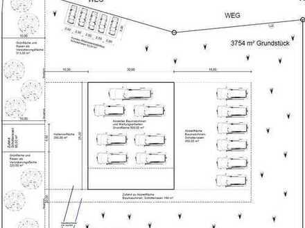 Neubau Lager-/Produktionshalle (ca. 380 m²) zzgl. Büro und Sozialräume in 56743 Mendig