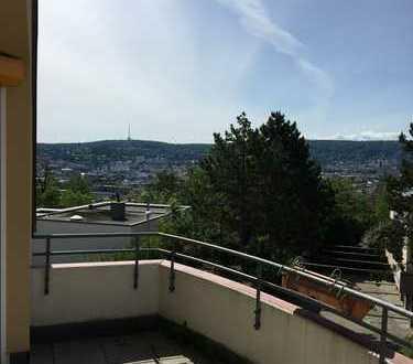 Maisonette-Wohnung mit Blick über Stuttgart // S-HHL //Ruhig dennoch zentral