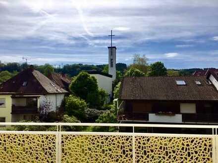Erstbezug einer exklusiven 4-Zimmer Wohnung mit Balkon und Aussicht ins Grüne