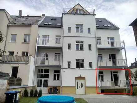 1,5-Zi. Wohnung, EBK, Fußbodenheizung, Balkon, Erstbezug, sonnig, ruhig