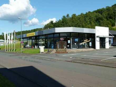 Gewerbeimmobilie in Netphen (Industriegebiet Richtung Dreis-Tiefenbach) für den Kfz-Bereich