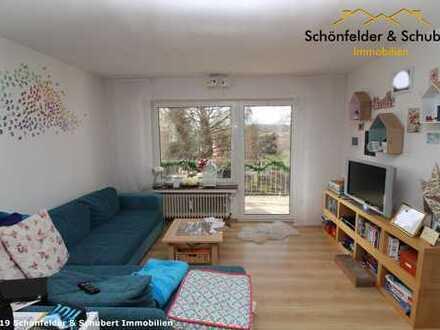Gut aufgeteilte 2,5 Raum-Wohnung, mit zwei Balkone