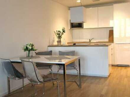 PRAEDIUM: Europaviertel - möbliertes, modernes 2-R-Apartment mit Balkon