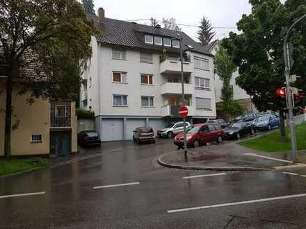 Zentral in Esslingen, vermietetes 1-Zi-Appartment mit Balkon