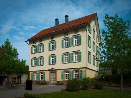 Vollständig renovierte 5-Raum-Wohnung mit Balkon und Einbauküche in Egenhausen