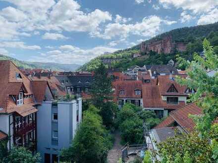 Charmante teilmöblierte 3 Zi- DG-Wohnung im Herzen der Heidelberger Altstadt
