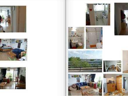 1-Zimmer-Wohnung mit großem Balkon, Blick ins Grüne in HD-Süd, ruhig, hAutostellplatz, Kellerell