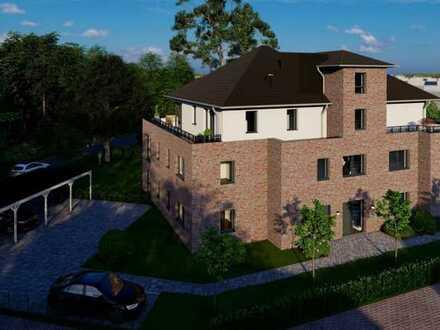 Letzte verfügbare ETW mit 3-Zimmern im EG auf knapp 91 m² Wohn- und Nutzfläche im KfW55-MFH